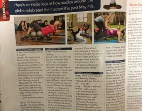 TMF pilates day in Pilates Style Magazine
