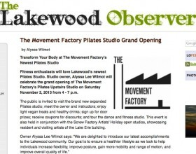 TMF grand opening in the Lakewood Observer