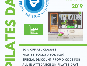 Pilates Day Event: Intro to Pilates